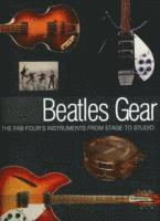 bokomslag Andy babiuk - beatles gear - all the fab fours instruments from stage to st