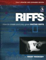 bokomslag Rikky rooksby - riffs - how to create and play great guitar riffs (revised