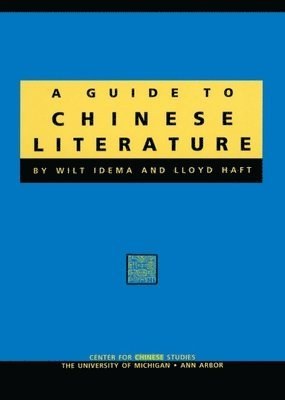 bokomslag Guide to Chinese Literature