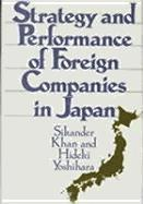bokomslag Strategy and Performance of Foreign Companies in Japan