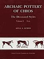 bokomslag Archaic Pottery of Chios (2 vols)