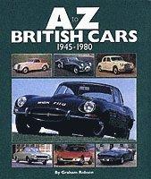 bokomslag A-Z British Cars 1945-1980