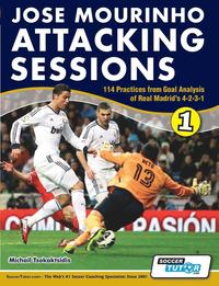 bokomslag Jose Mourinho Attacking Sessions - 114 Practices from Goal Analysis of Real Madrid's 4-2-3-1