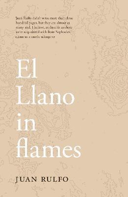 bokomslag El Llano in flames