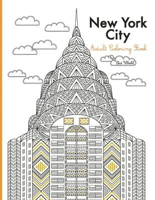 bokomslag New York City Adult Coloring Book