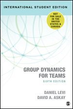 bokomslag Group Dynamics for Teams - International Student Edition