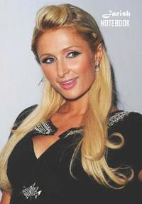 bokomslag Notebook: Paris Hilton Medium College Ruled Notebook 129 pages Lined 7 x 10 in (17.78 x 25.4 cm)