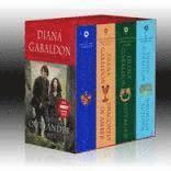 bokomslag Outlander Boxed Set: Outlander, Dragonfly in Amber, Voyager, Drums of Autumn