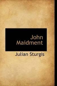 bokomslag John Maidment