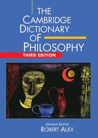 bokomslag The Cambridge Dictionary of Philosophy