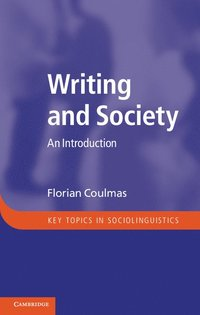 bokomslag Writing and Society