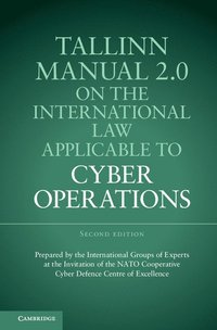 bokomslag Tallinn Manual 2.0 on the International Law Applicable to Cyber Operations