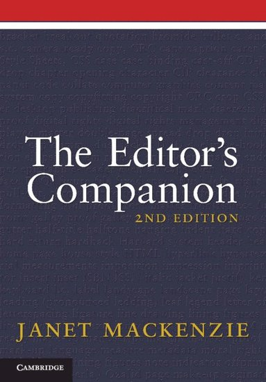 bokomslag The Editor's Companion