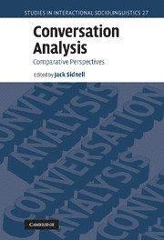 bokomslag Conversation Analysis: Comparative Perspectives