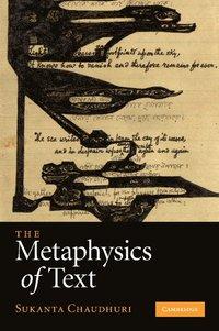bokomslag The Metaphysics of Text
