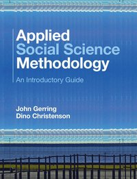 bokomslag Applied social science methodology - an introductory guide