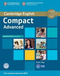 bokomslag Compact Advanced Student's Book with Answers with CD-ROM