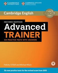 bokomslag Advanced Trainer Six Practice Tests with Answers with Audio