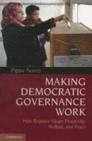bokomslag Making Democratic Governance Work: How Regimes Shape Prosperity, Welfare, and Peace