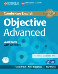 bokomslag Objective Advanced Workbook with Answers with Audio CD