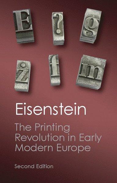 bokomslag Printing revolution in early modern europe