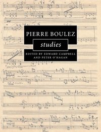 bokomslag Pierre Boulez Studies