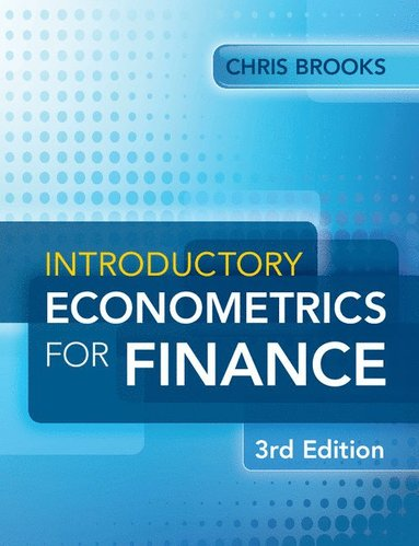 bokomslag Introductory Econometrics for Finance