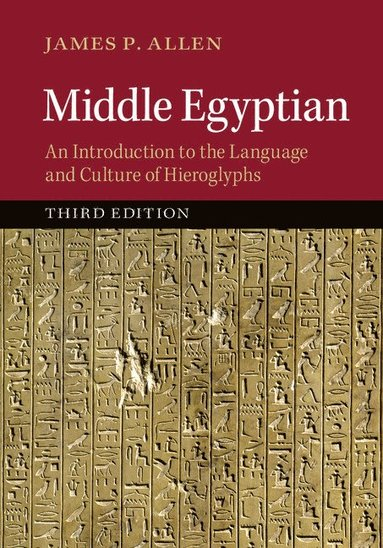 bokomslag Middle Egyptian: An Introduction to the Language and Culture of Hieroglyphs