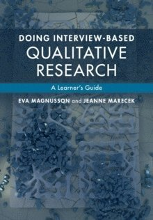 bokomslag Doing Interview-based Qualitative Research: A Learner's Guide
