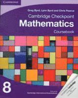 bokomslag Cambridge Checkpoint Mathematics Coursebook 8