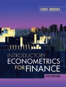bokomslag Introductory Econometrics for Finance