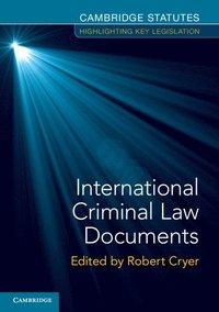 bokomslag International Criminal Law Documents