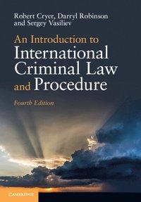 bokomslag An Introduction to International Criminal Law and Procedure