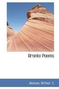 bokomslag Bronte Poems