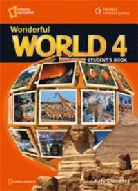 bokomslag Wonderful World 4 with Pupil's CD-ROM