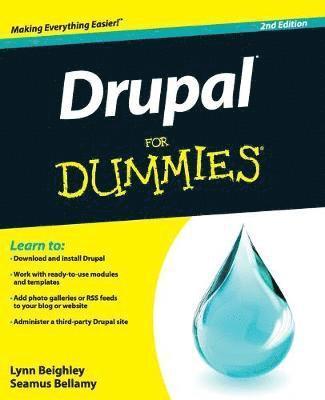 bokomslag Drupal For Dummies, 2nd Edition