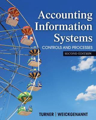 bokomslag Accounting Information Systems the Processes and Controls 2E