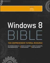 bokomslag Windows 8 Bible
