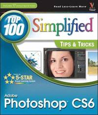 bokomslag Adobe Photoshop CS6 Top 100 Simplified Tips and Tricks