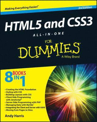 bokomslag Html5 and Css3 All-In-One for Dummies, 3rd Edition