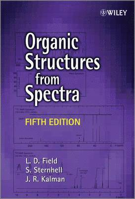 bokomslag Organic Structures from Spectra, 5th Edition