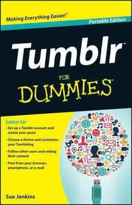 bokomslag Tumblr For Dummies, Portable Edition