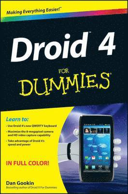 bokomslag Droid 4 For Dummies