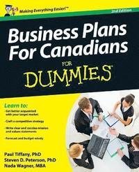 bokomslag Business Plans For Canadians for Dummies