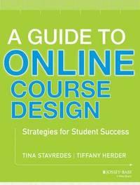bokomslag A Guide to Online Course Design