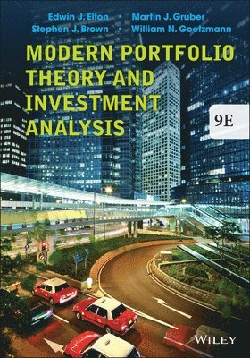 bokomslag Modern Portfolio Theory and Investment Analysis, 9th Edition