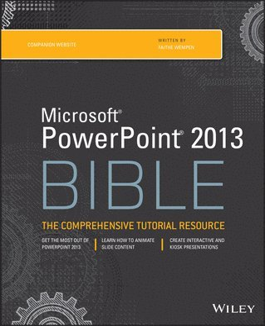 bokomslag Microsoft PowerPoint 2013 Bible