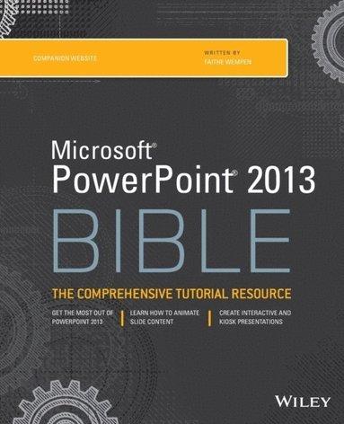 bokomslag PowerPoint 2013 Bible