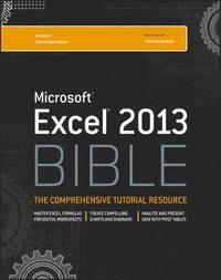 bokomslag Excel 2013 Bible