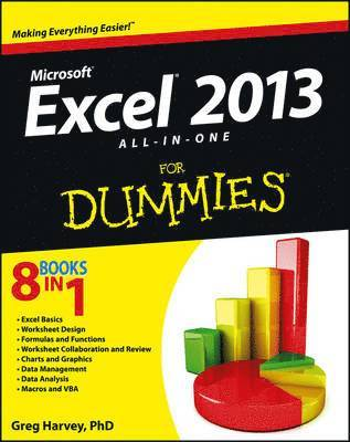 bokomslag Excel 2013 All-In-One for Dummies